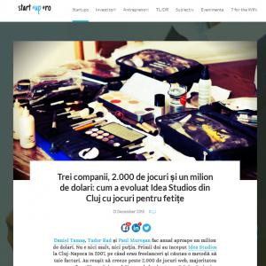 Daniel Tamas - Start-up.ro